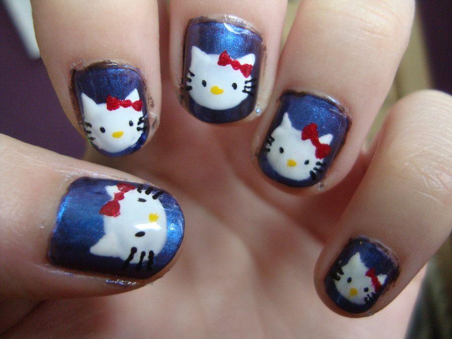 15 Diseños de Uñas Hello Kitty - ε Diseños e Ideas originales para Decorar tus Uñas з