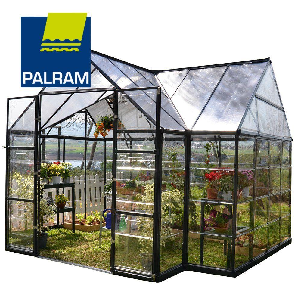 Palram Four Season Chalet Hobby Greenhouse 10 x 12 x 9