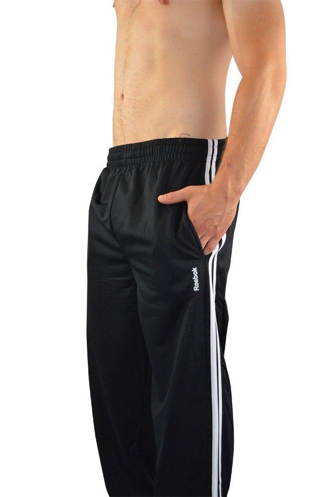 mens reebok tracksuit bottoms