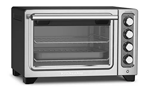 Kitchenaid 12 Inch Compact Convection Countertop Oven Black Matte Compact Oven Kitchenaid Oven Countertop Toaster Oven