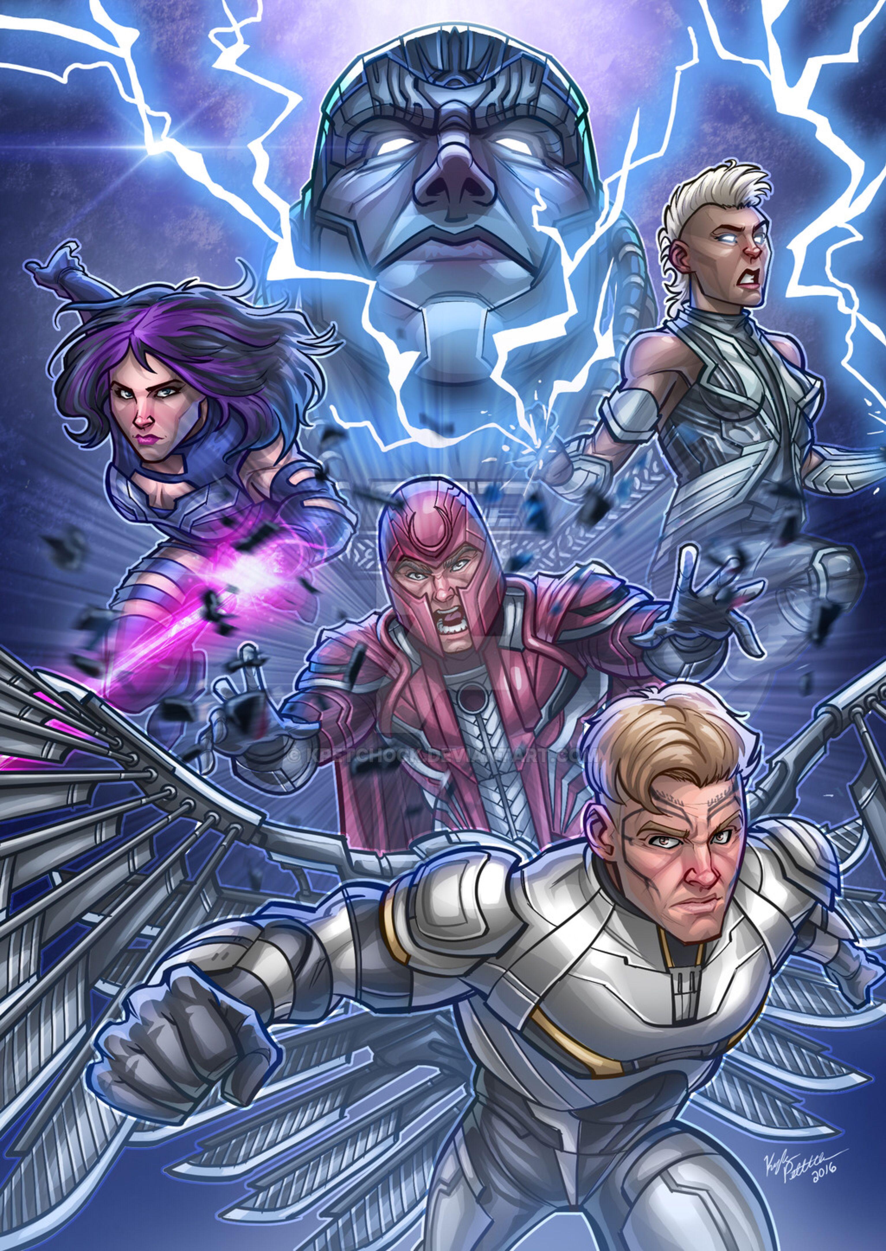 XMen Apocalypse The Four Horsemen Apocalypse marvel