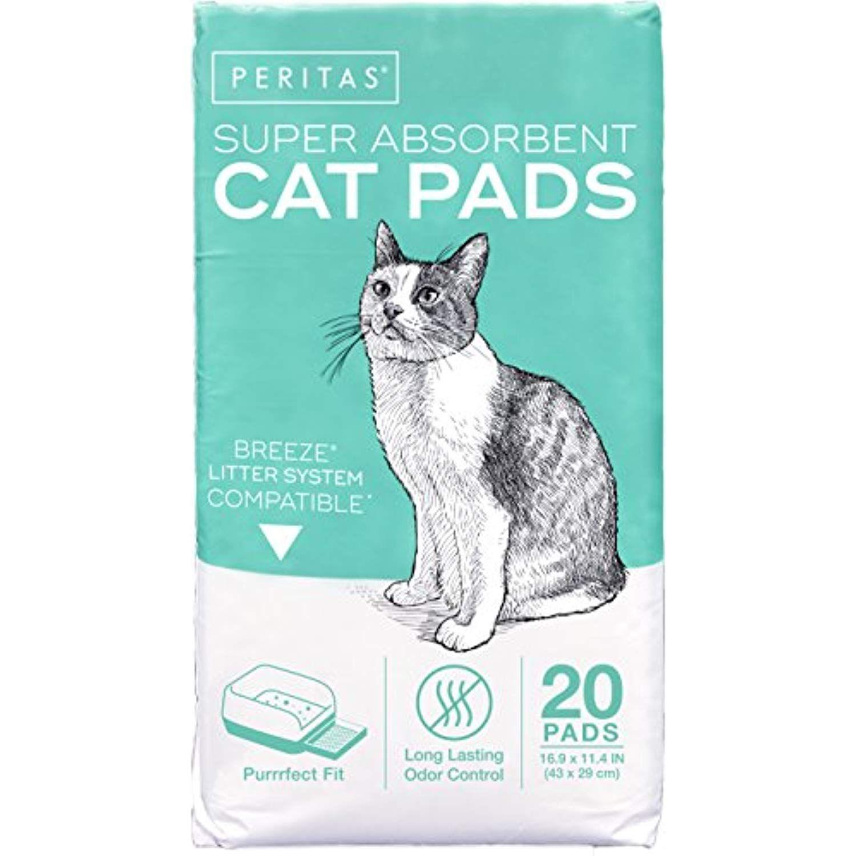Peritas Cat Pads for Breeze Tidy Litter System, Original