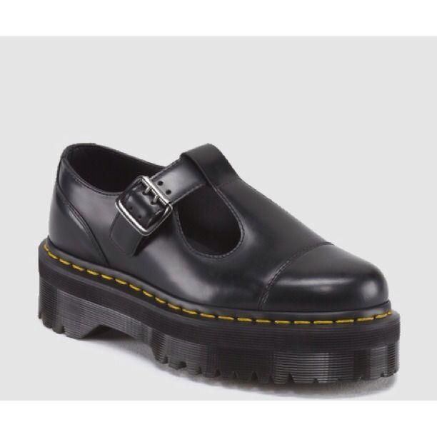 Dr Marten Bethan Shoes T Bar Dr Martens Platform | Обувь