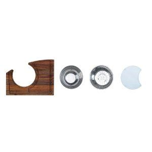 AstraCast WC10ACCPK Workcenter Accessory Pack by Astracast. $152.36. Includes:. Finish:. Style / Application:. Product Dimensions:. Manufacturer Part Number: ATWC10ACCPK. Transform your sink into a complete food preparation area using the Astracast Accessory Pack. This accessory pack features a wood cutting board, a glass cutting board, and a stainless steel colander and mixing bowl.Features:Includes a stainless steel colander and mixing bowlIncludes a wood cutting board a...