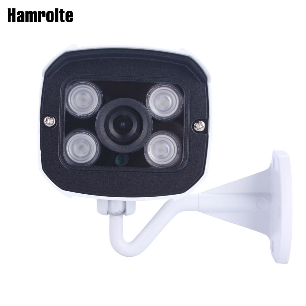 Hamrolte CCTV Camera AHD Camera 1080P High Resolution 28MM Wide Angle Lens Nightvision Waterproof Bullet outdoor Camera