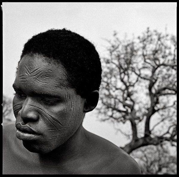 Boni tribe in West Africa's Burkina Faso, ritual facial ...