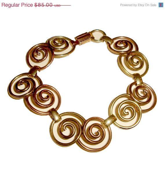 ON SALE Choker Bracelet Set by PROBST Gold by TheJewelryEmporium, $75.65