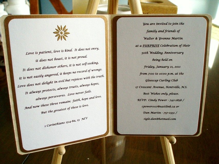 Traditional 50th Wedding Anniversary Gifts For Parents 560x420