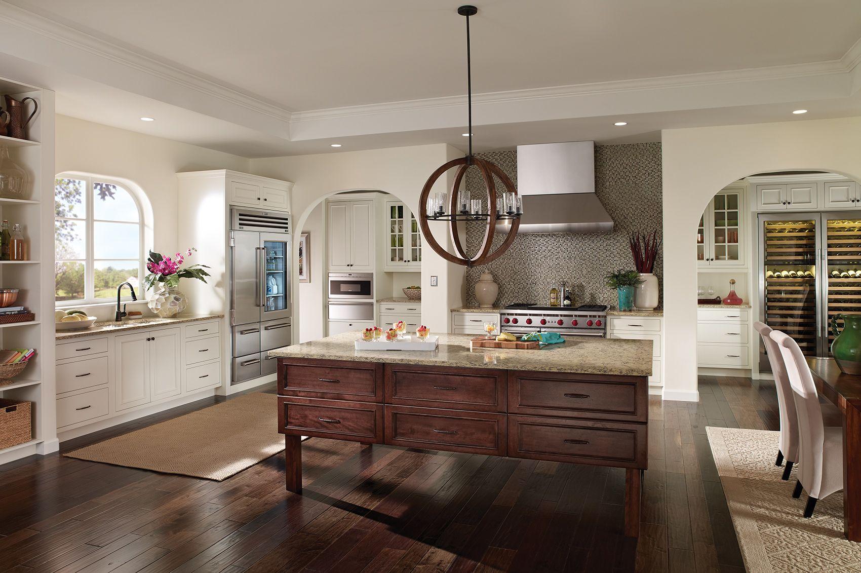 Pin By Continental Kitchen And Bath S On Modern Kitchens Custom Kitchen Cabinets Kitchen Design Bertch Cabinets