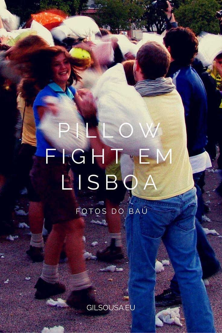 Pillow Fight em #Lisboa #Portugal