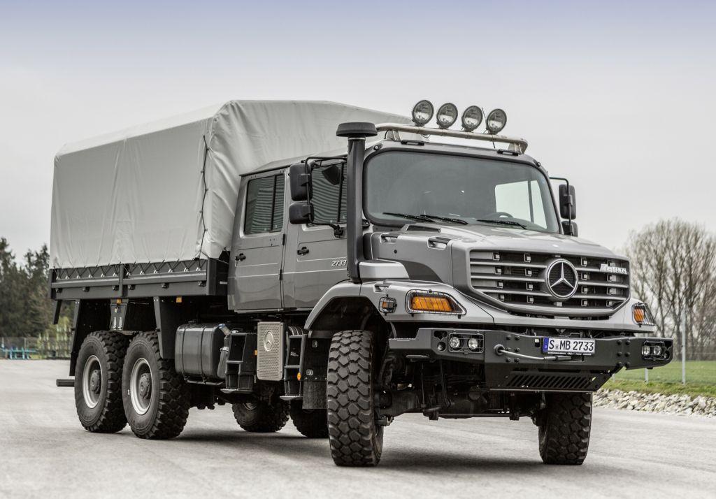 Mercedes-Benz Zetros 2733 A Crew Cab Pritschenwagen '2014-pr. | Mercedes benz unimog, Mercedes ...