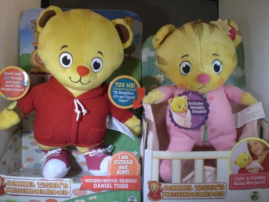 Daniel Tiger 14 Talking Plush Baby Margaret 10 Cute Cuddly NEW JAKKSPacific