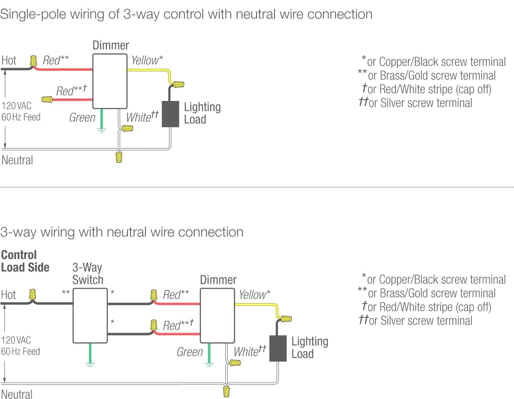 Unique Wiring Diagram for A Leviton Dimmer Switch