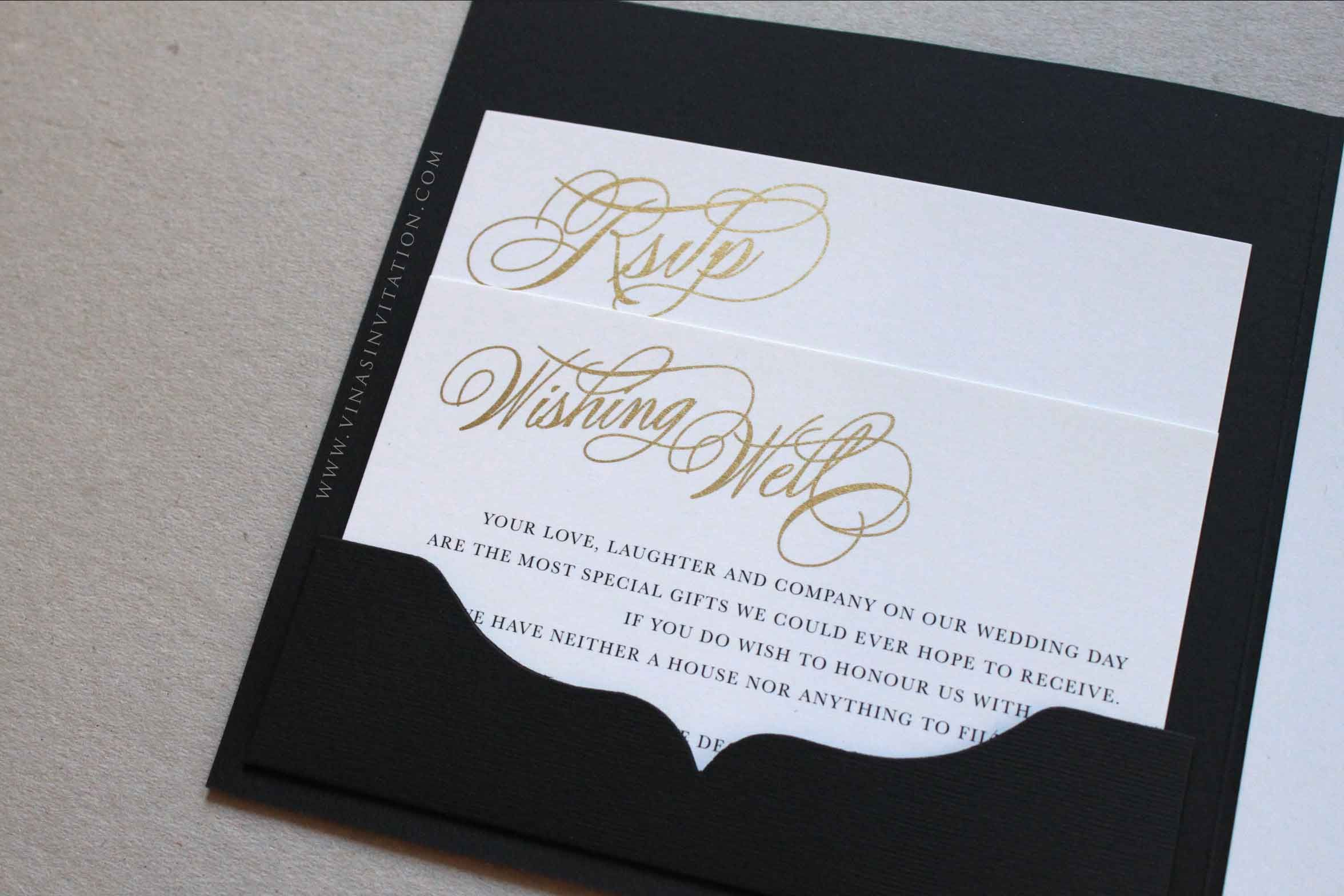 Vinas invitation. custom invitation.Australian wedding. sydney ...