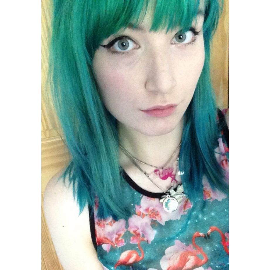 Green and turquoise hair  D directions crazycolour bleachlondon
