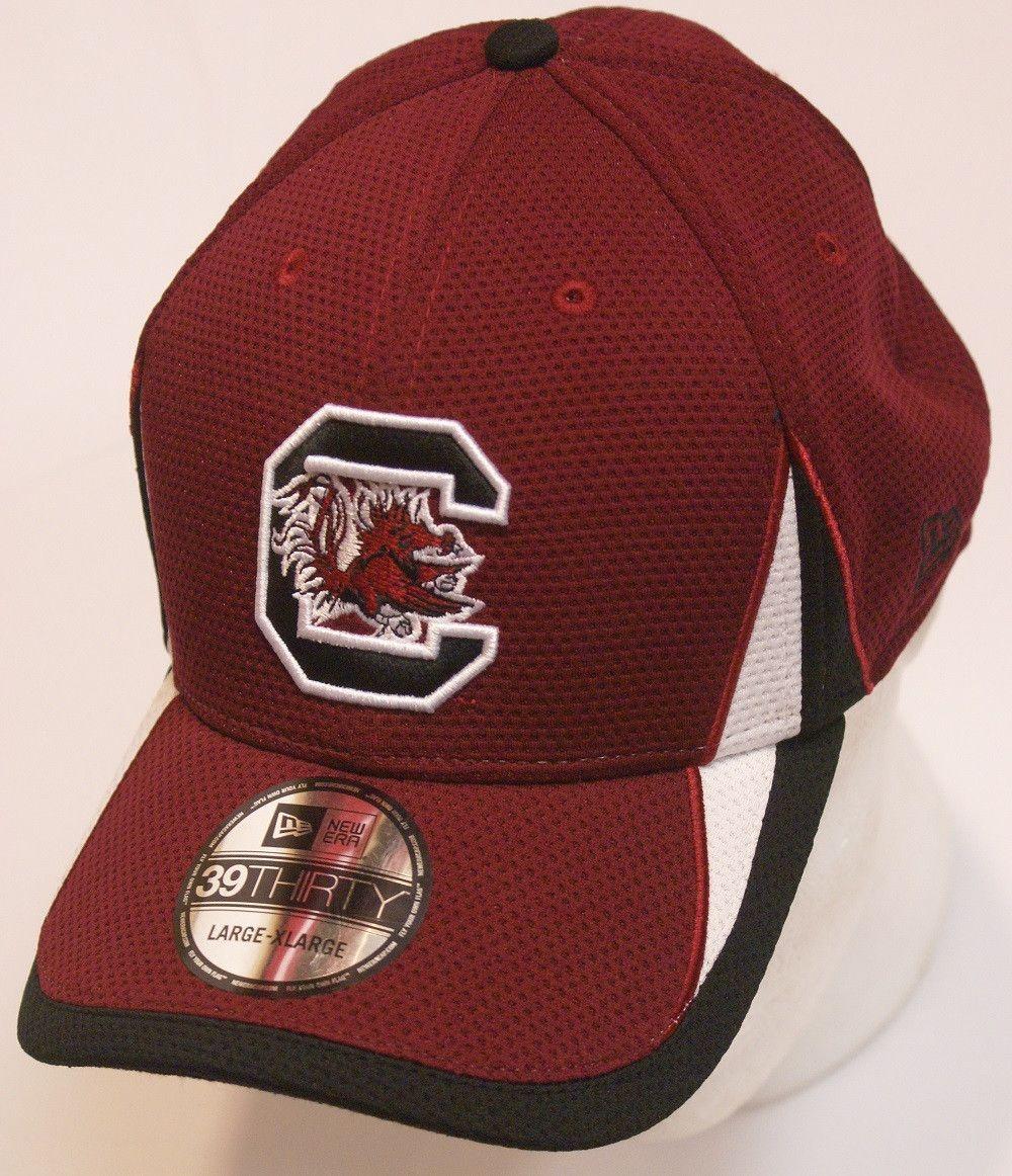NCAA South Carolina Gamecocks Training Perf 3930 Garnet Dry Fit Hat