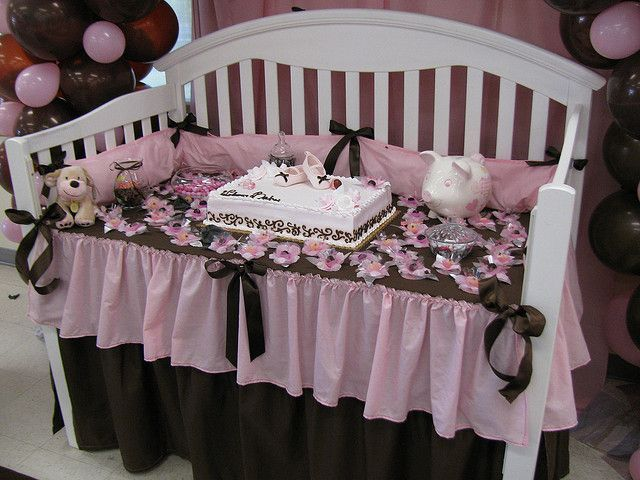 Crib Cake Table For Baby Shower Cakes Tables And Showers