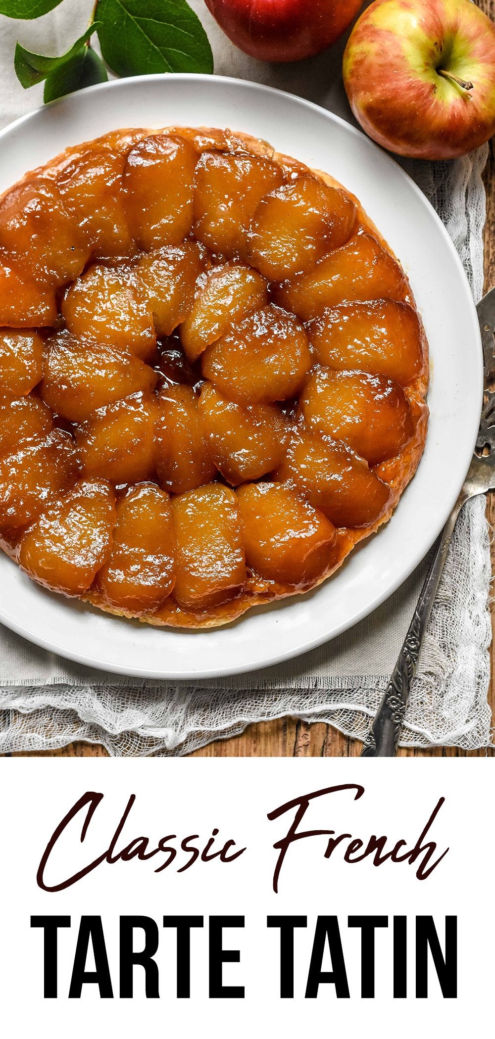 Classic tarte tatin apple tarte tatin french cuisine
