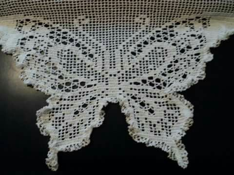 cortina by Crochetsruth vestuario facebook