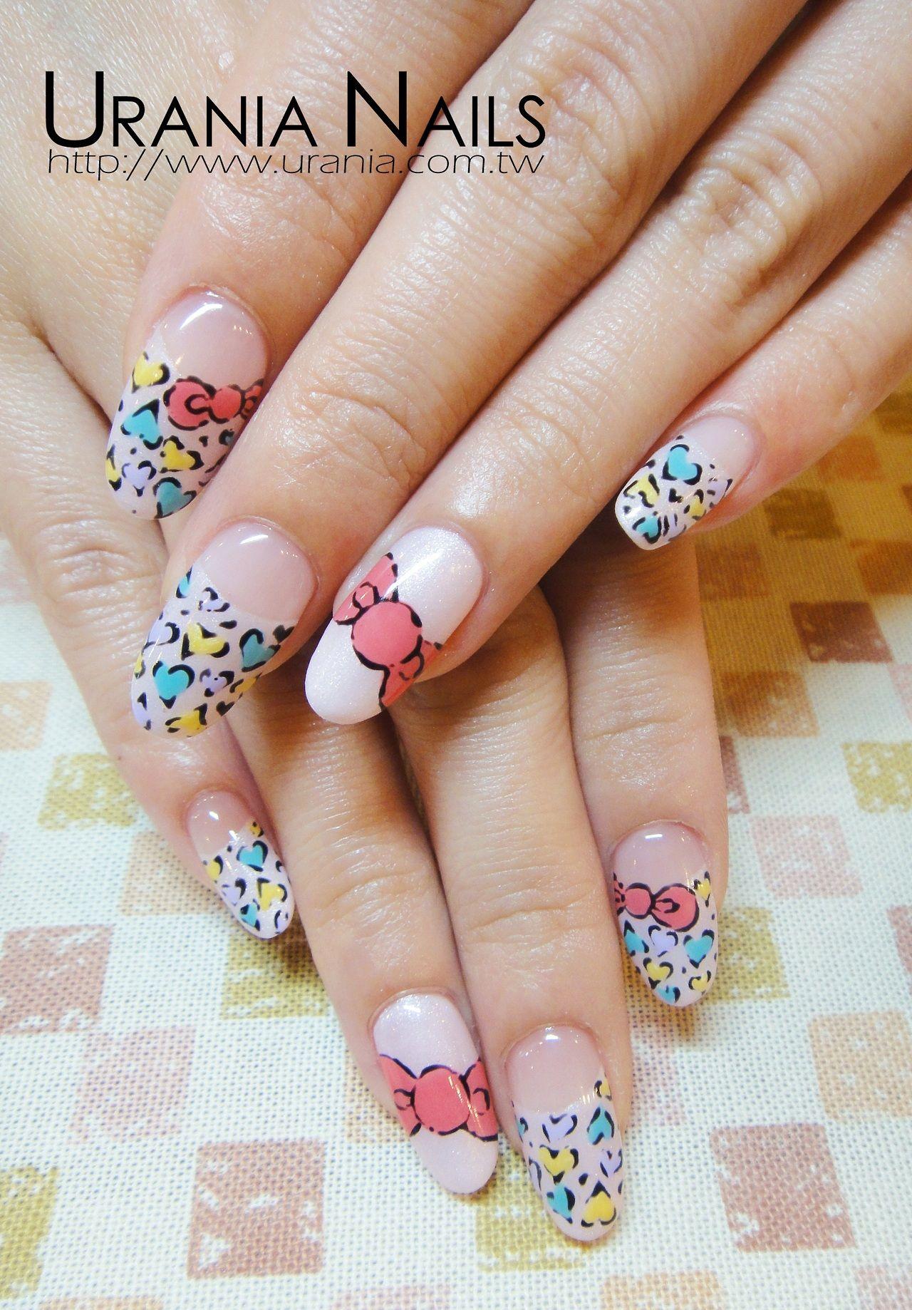 Tumblr | Valentine\'s Nails | Pinterest