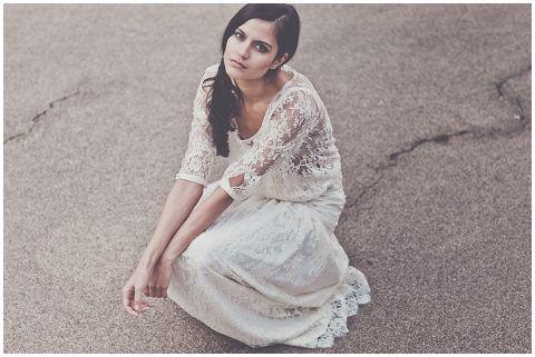 lace wedding dress, bohemian style bride #weddingdress