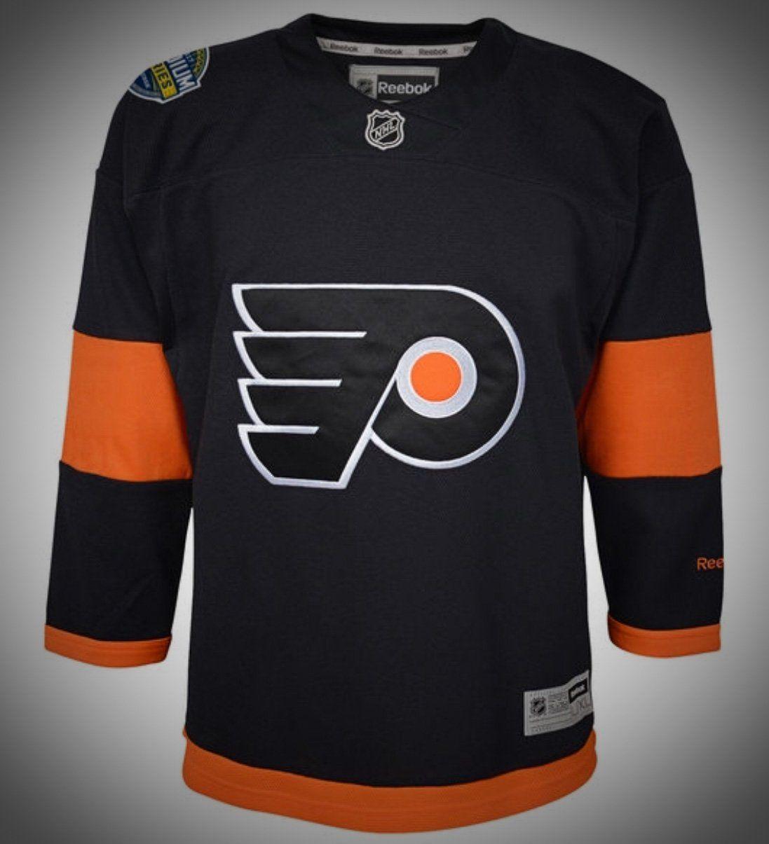 Philadelphia Flyers Premier Reebok NHL Stadium Series Jerseys ... 9d4de14bb