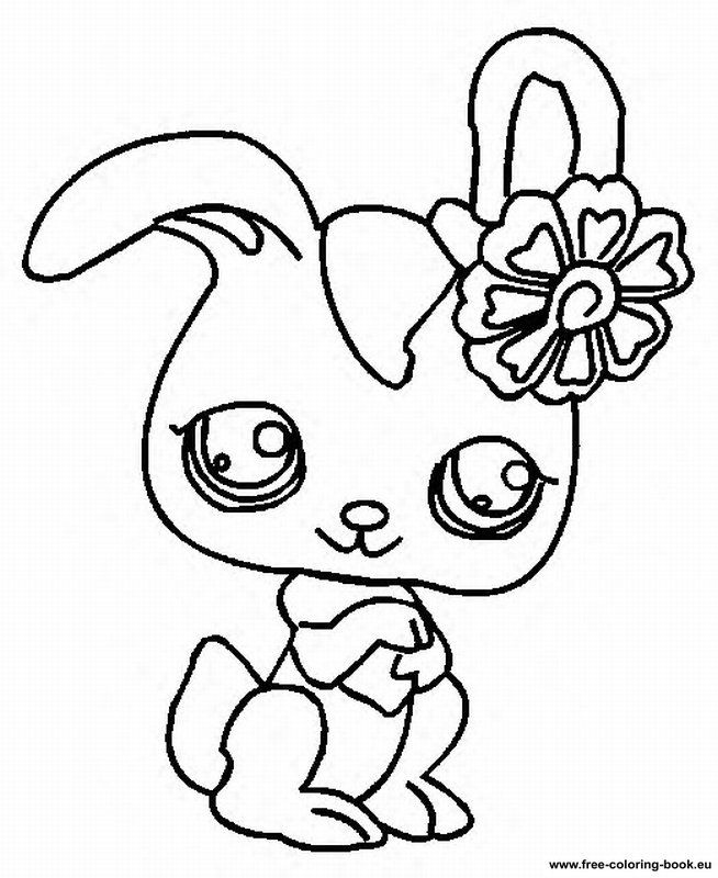 coloring book pages Coloring pages Littlest Pet Shop Page 2