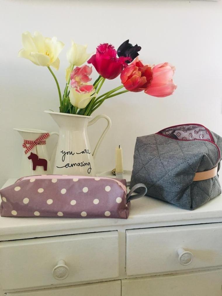 """Photo of Die """"Da-passt-alles-rein-Tasche"""" …perfekt für den Urlaub! Eine kostenlose Nähanleitung für Dich! Materialsets sind im Online-Shop…"""