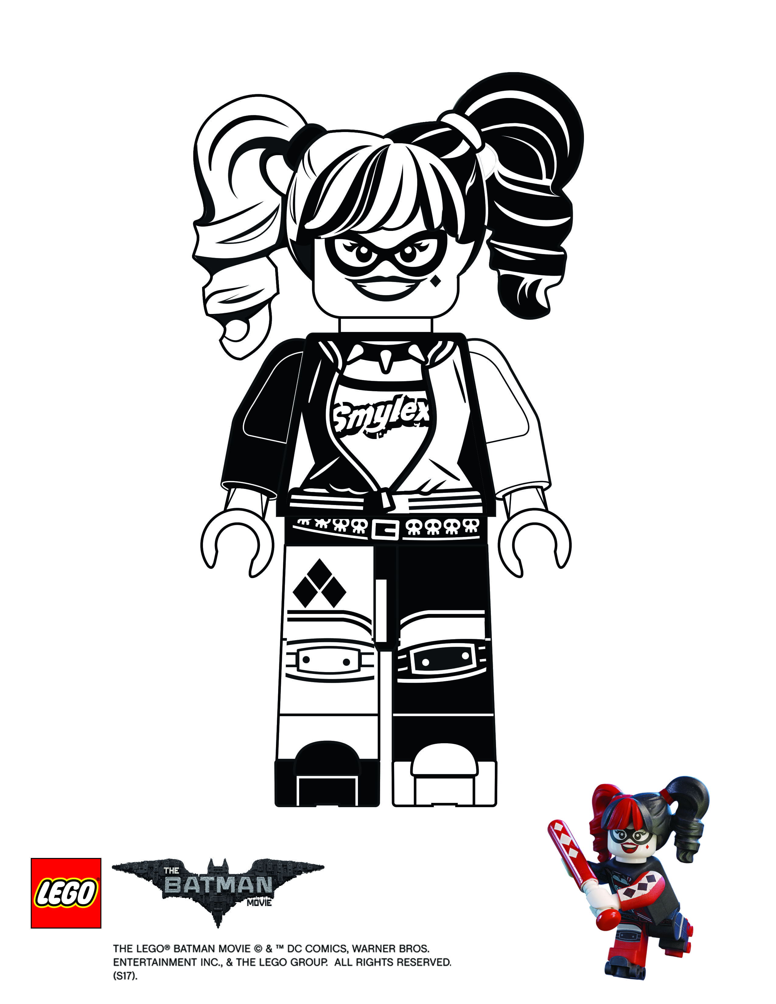 Printable coloring pages lego batman - Harley Quinn Batman Lego Movie Coloring Pages Printable And Coloring Book To Print For Free Find More Coloring Pages Online For Kids And Adults Of Harley