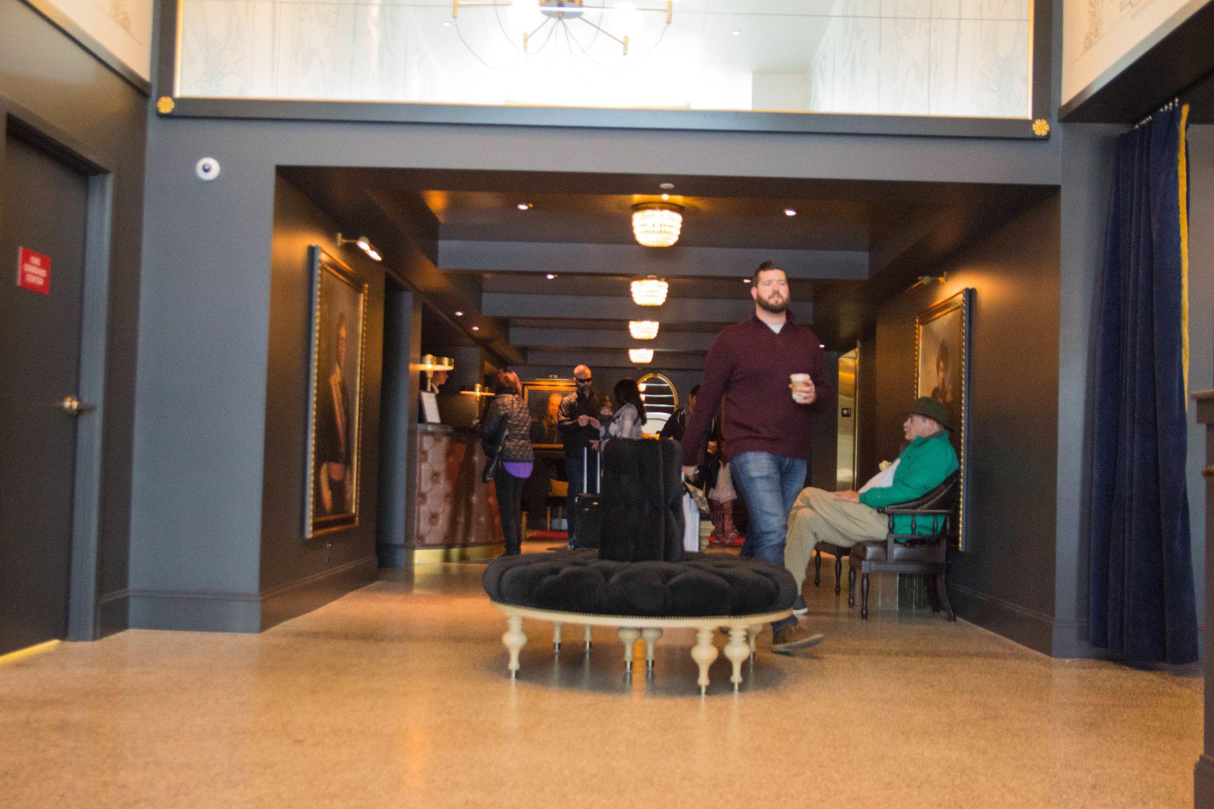 Where To Stay In Seattle Washington The Kimpton Palladian Hotel Downtown