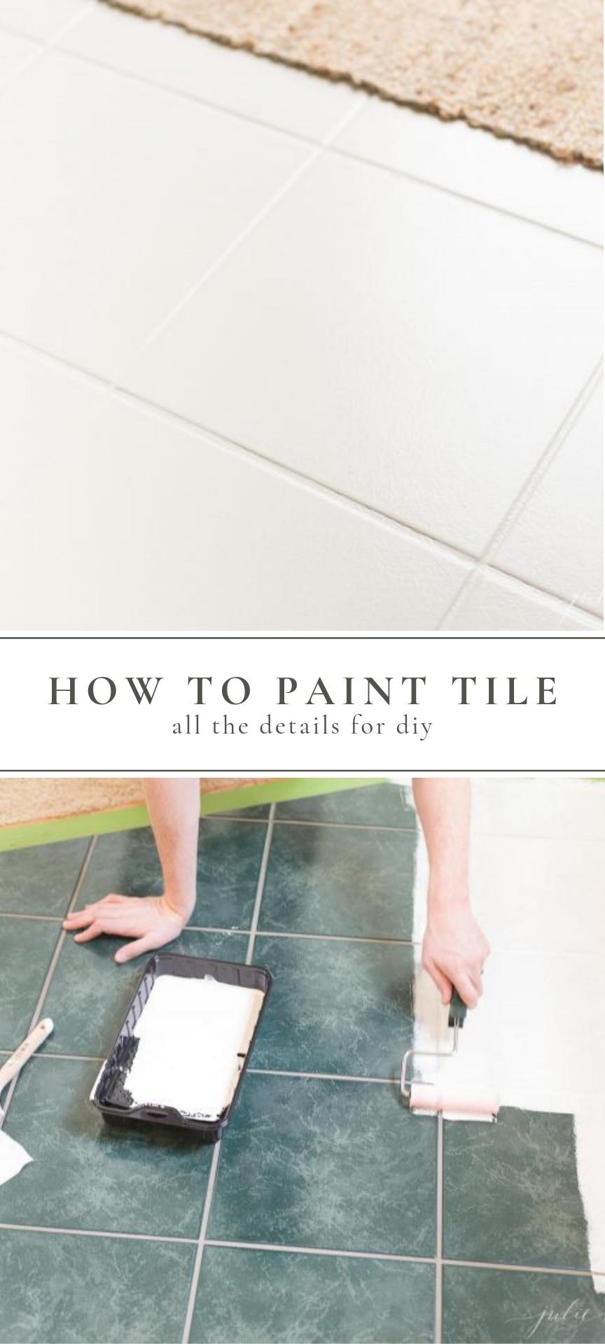 Tile Paint How To Paint Tile Painting Tile Painting Ceramic Tiles Painting Tile Floors