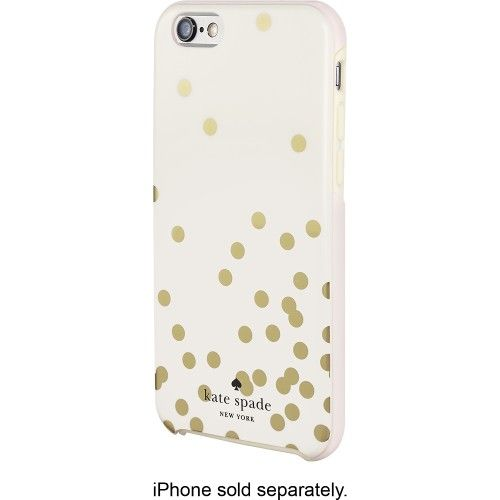 kate spade new york Confetti Hybrid Hard Shell Case for Apple iPhone 6 Gold  KSIPH-011-CFGC
