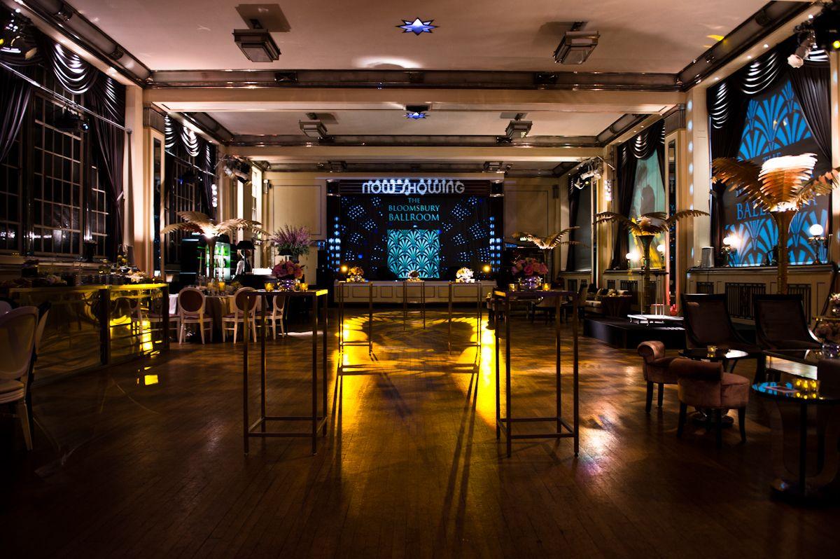 The Bloomsbury Ballroom Art Deco Style Wedding Venues In LondonVenue