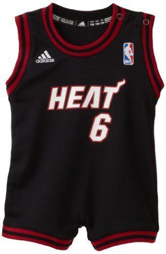 NBA Miami Heat Lebron James Onesie Road Jersey - R22Useez Infant  Amazon Clothing 2a7319048