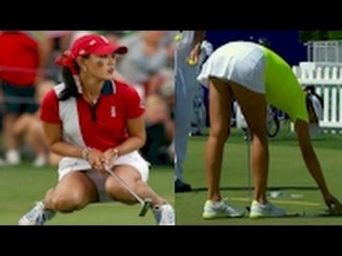 super hot video of golfer michelle wie