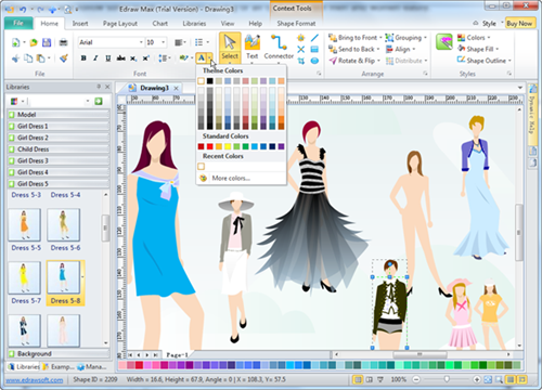 Fashion Design Software Fashion Design Software Dress Design Drawing Software Design