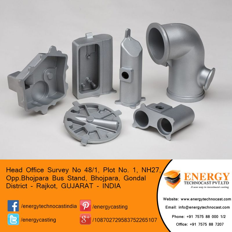 Energy Technocast is capable to metal casting, lost wax
