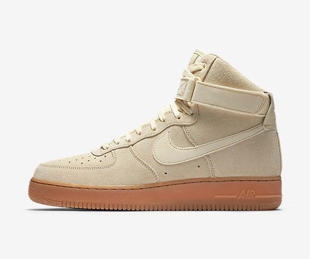 Nike Air Force 1 Homme Beige Nike Air Force 1 07 LV8 Suede