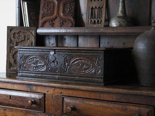 Antique 17th Century Bible Box (Salisbury)