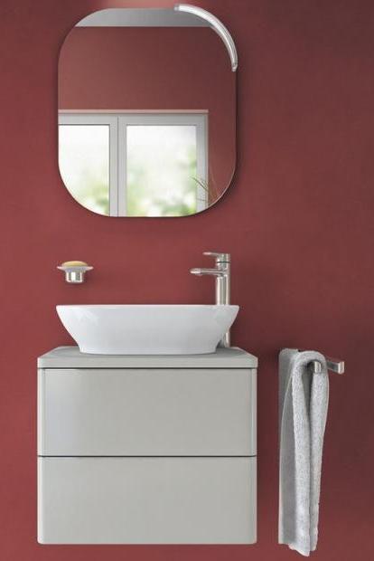 Ausgefallen Und Exquisit Rot Im Bad Bild 10 Badezimmer