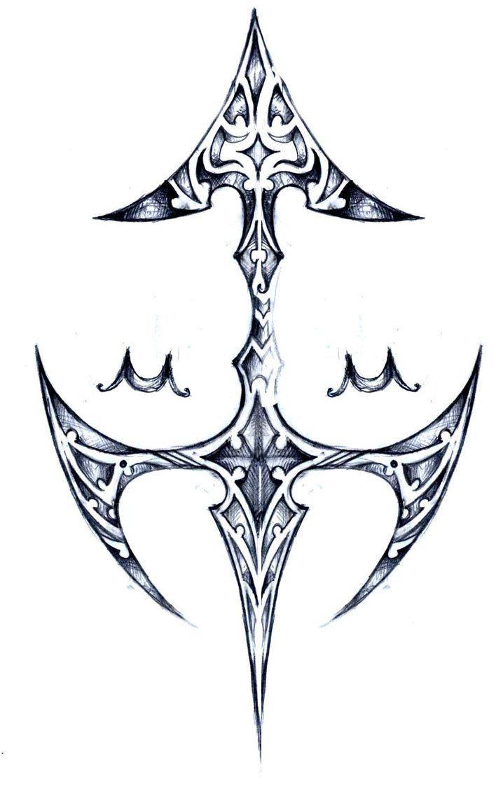 Sagittarius Zodiac Signs Sagittarius Zodiac Sign Tattoo Sketch