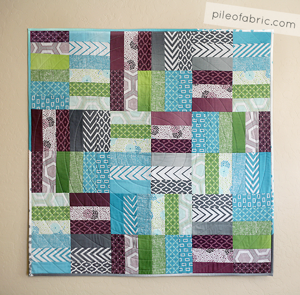 Jelly Roll Jam Quilt using Free Fat Quarter Shop pattern ... : free patterns for quilting projects - Adamdwight.com