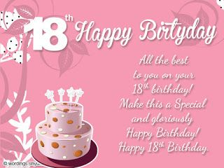 18th Birthday Messages Wishes Happy 18th Birthday Quotes 18th Birthday Cards Happy 18th Birthday Son