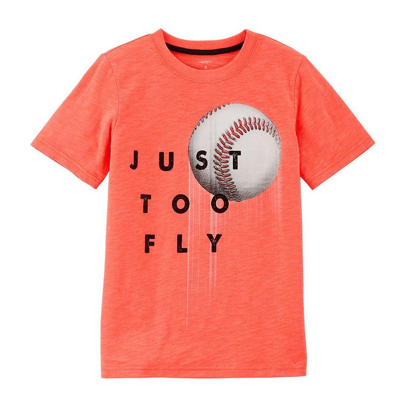 ac9307b09 Carter's Boys Crew Neck Short Sleeve Graphic T-Shirt Preschool / Big Kid