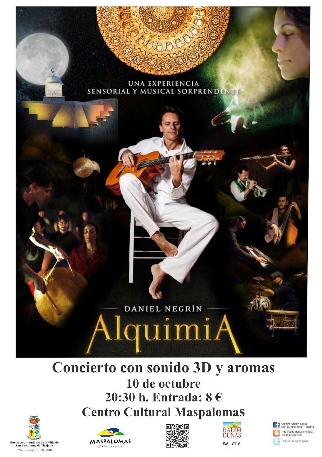 Área de Cultura y Acción Social de San Bartolomé de Tirajana: Alquimia, una experiencia sensorial y musical sorp...