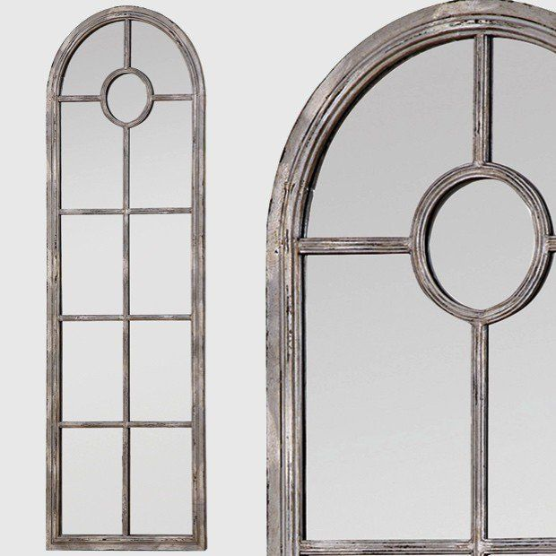 Tall Framed Arched Window Mirror | Home Decor in 2018 | Pinterest ...