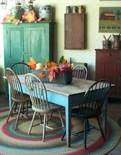 Idee romantiche per rinnovare i colori della propria cucina Shabby ...