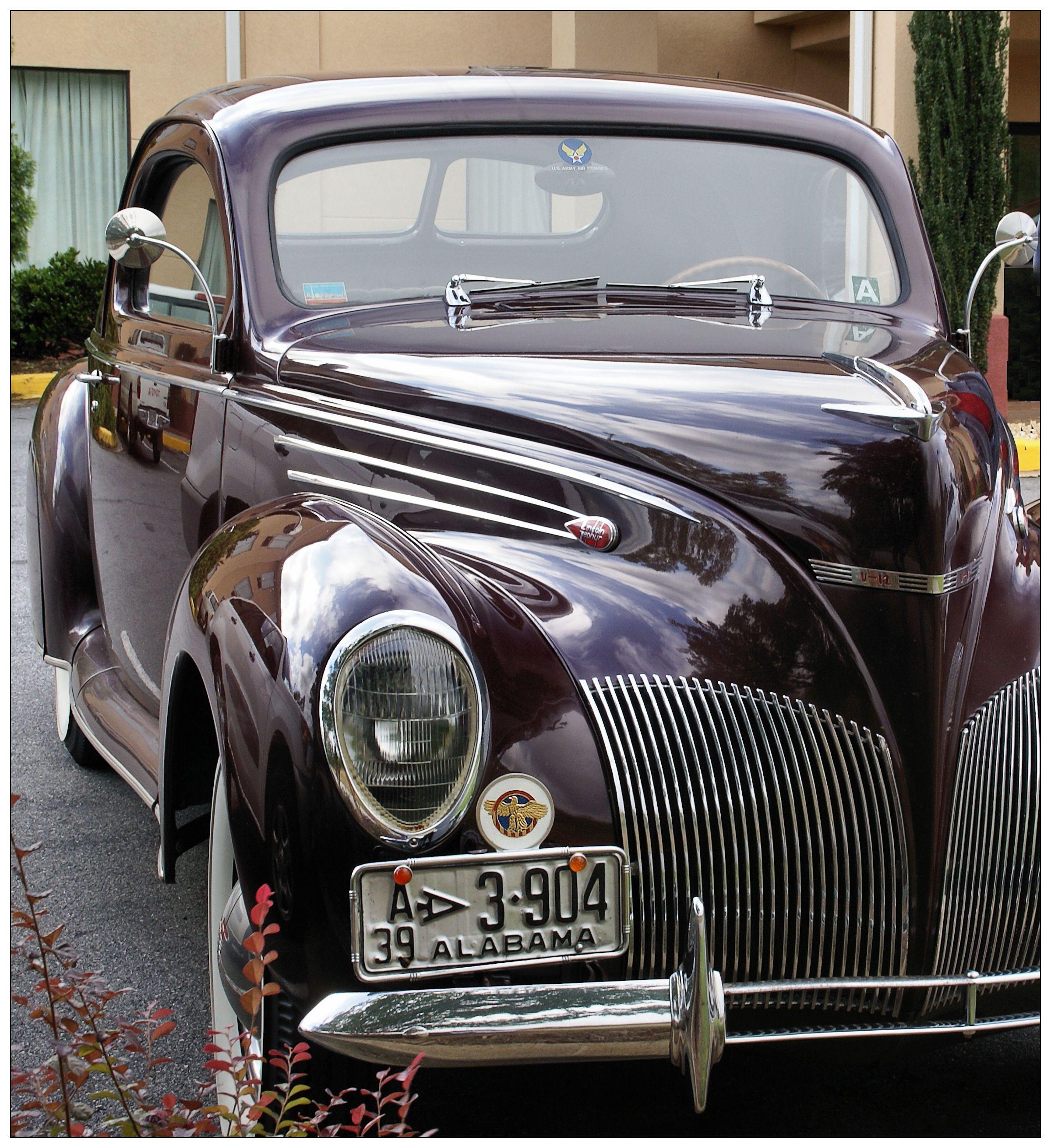 1939 v12 lincoln zepheri want antique cars car