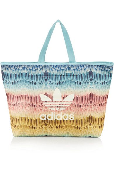 db5ef37ef242 Adidas Originals Menire printed canvas tote  AdidasOriginals