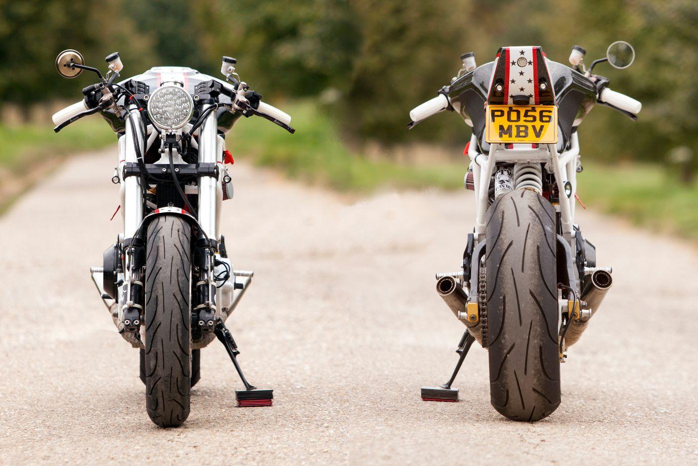 ducati monster 900 cafe racermario kusters | motorcycles